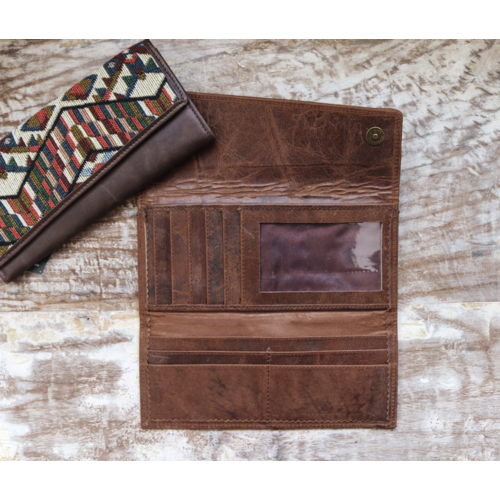 Almost Perfect Caramel Wallet