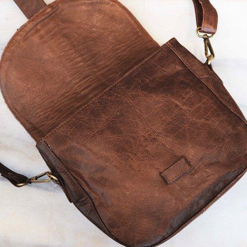 Farewell Sun Leather Crossover