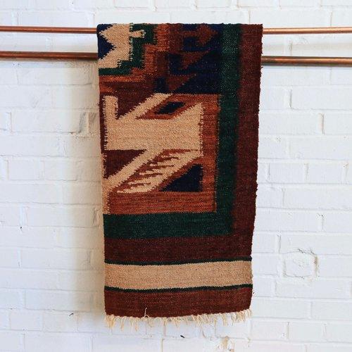 Marshé Home- Guatemala Hand-Woven Wool Rug, No. 13