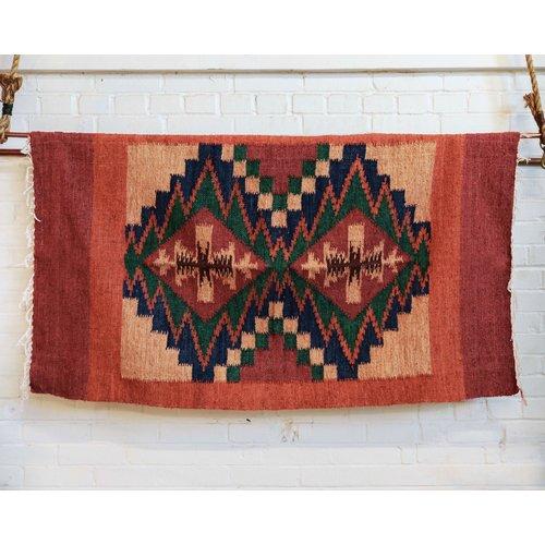 Marshé Home- Guatemala Hand-Woven Wool Rug, No. 10