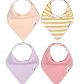 Copper Pearl Bandana Bib Set Sweetheart