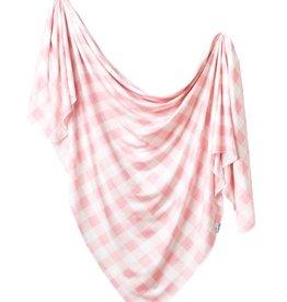 Copper Pearl Knit Blanket London