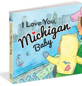 Workman Publishing I Love You, Michigan Baby