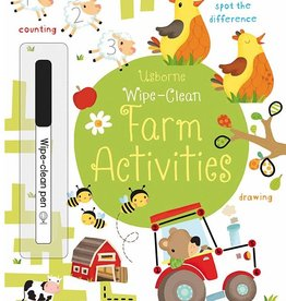 Usborne Wipe-Clean Farm Activities