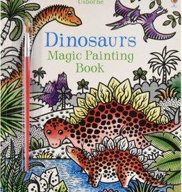 Usborne Magic Painting Dinosaurs Book