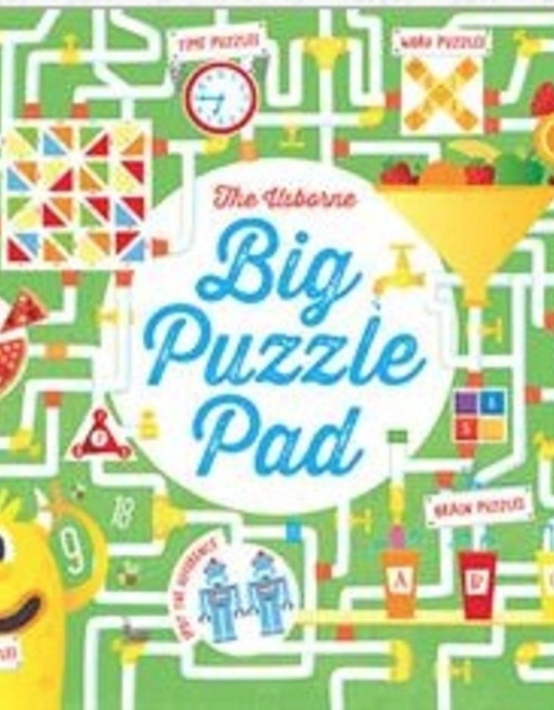 Usborne Big Puzzle Pad