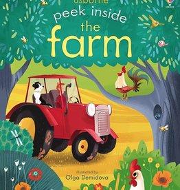 Usborne Peek Inside the Farm