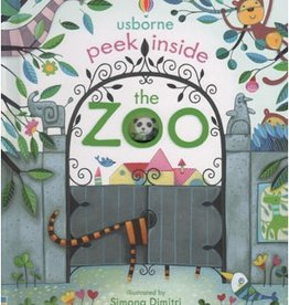 Usborne Peek Inside the Zoo