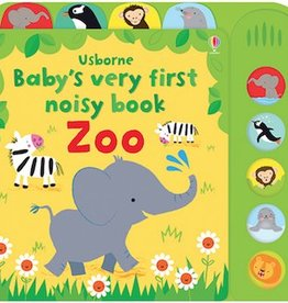 Usborne Baby's Very First Noisy Book Zoo