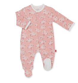 Magnetic Me Cherry Blossom Footie 3/6M