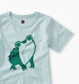 Frog Baby Tee Sky 3/6M