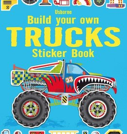 Usborne Build Your Own Trucks Sticker Book