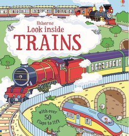 Usborne Lift and Look Trains