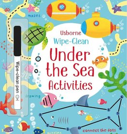Usborne Wipe Clean Under the Sea