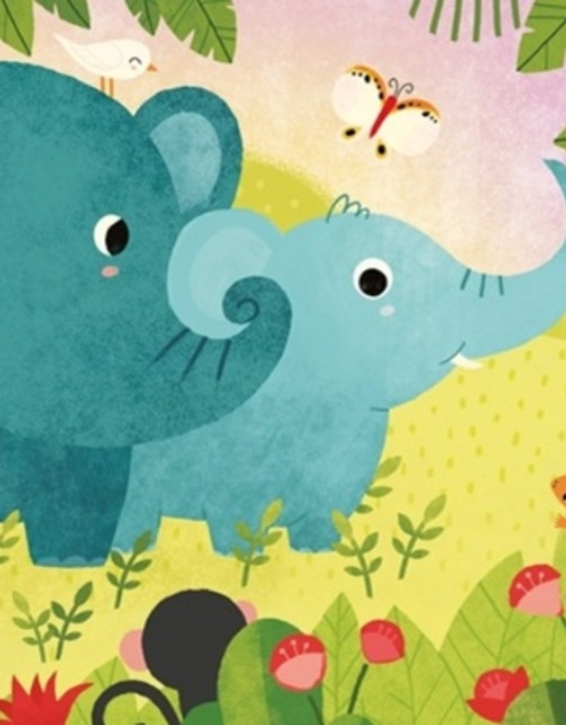 Usborne Cucú, ¿estás ahí? - ¿Dónde estás, elefantita?     (Are You There Little Elephant?)