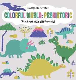 Usborne Colorful World: Prehistoric book