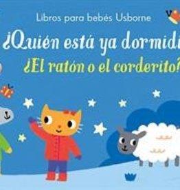 Usborne Libros para bebés - ¿Quién está ya dormidito? (Who's Fallen Asleep?)