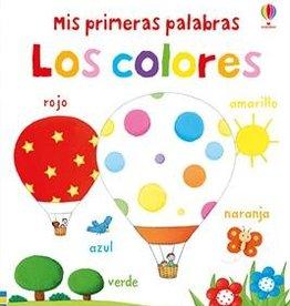 Usborne Mis primeras palabras - Los colores (Very First Color Book)