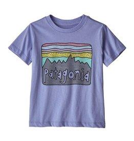 Patagonia Fitz Roy  Lt Violet Blue Tee 5