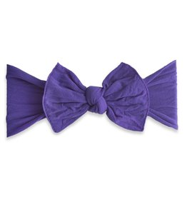Baby Bling Bow Knot Bow Ultra Violet