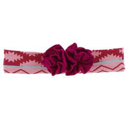 Kickee Pants Flower Headband Strawberry Mayan