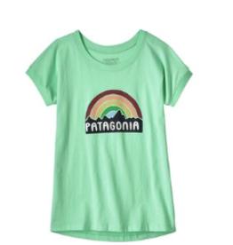 Patagonia Pastel Logo  Tee XS(5/6)