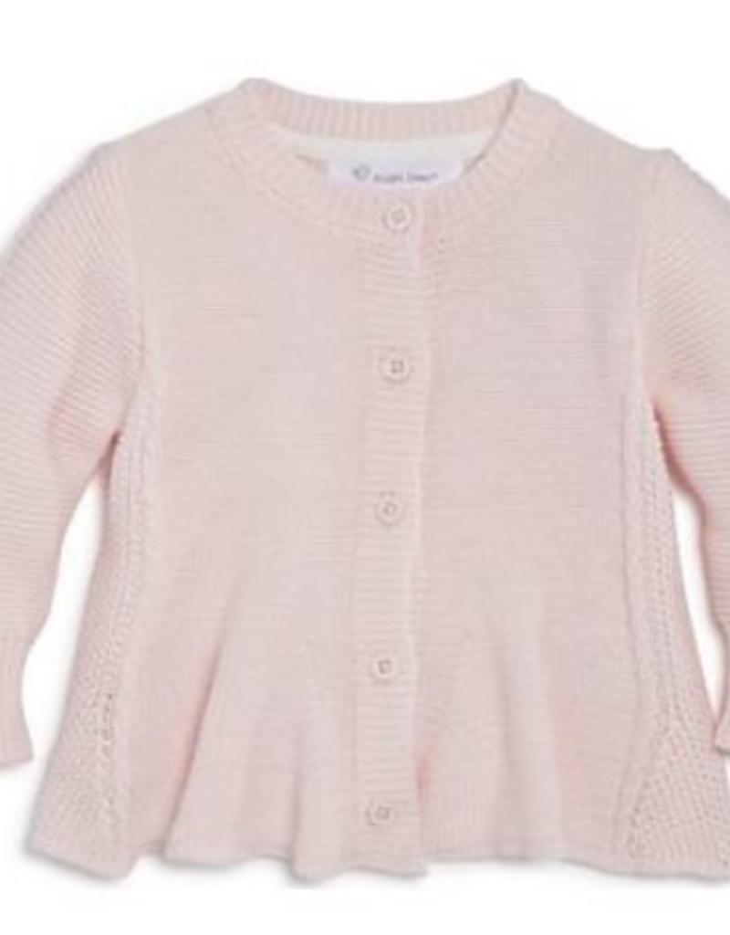 Angel Dear Seed Stitch Cardigan Pale Pink