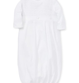 White Knit Conv Sack SM