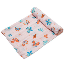 Angel Dear Butterfly Muslin Swaddle Blanket