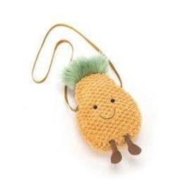 Jellycat Amuseable Pineapple Zip Bag (retired)