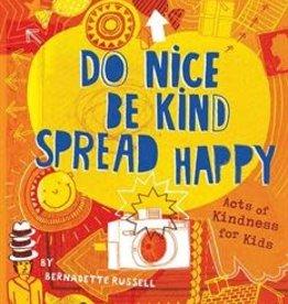 Usborne Do Nice, Be Kind, Spread Happy