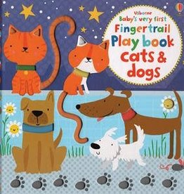 Usborne Fingertrail Play Cats & Dogs