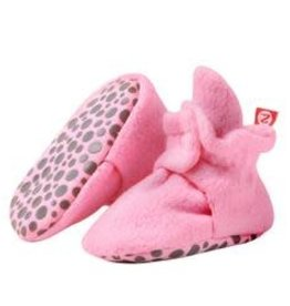 Zutano Fleece Gripper Bootie  12M