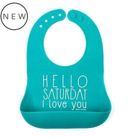 Bella Tunno Wonder Bib Saturday Love