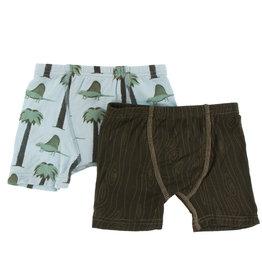 Kickee Pants Boxers Set Sauro Stripe 2/3