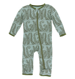Kickee Pants Coverall Shore Ferns 3/6M, 9/12M