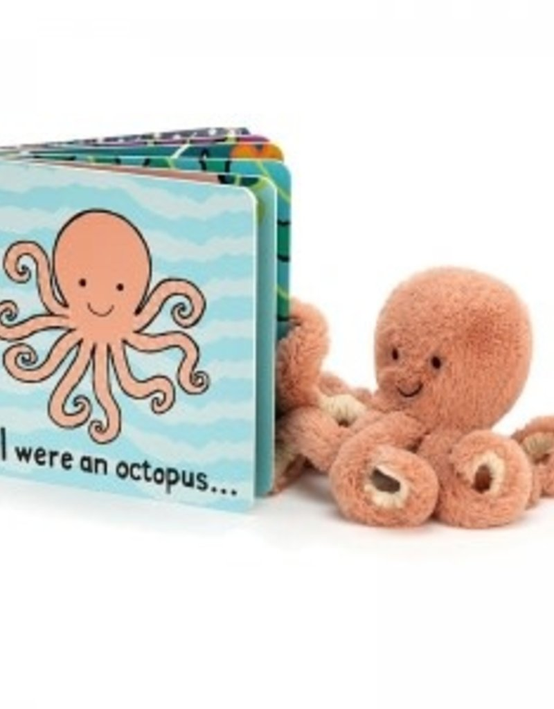 Jellycat If I were an Octopus Book