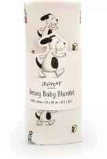 Jellycat Bashful Puppy Blanket