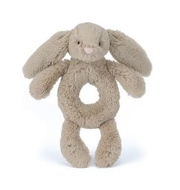 Jellycat Bashful Bunny Beige  Ring Rattle