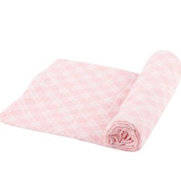 Newcastle Swaddle Pink Plaid