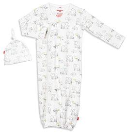 Magnetic Me Le Enfant Gown Set NB/3M