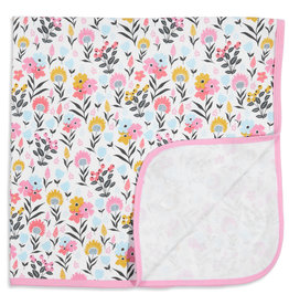 Sussex Floral Swaddle