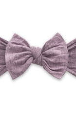 Baby Bling Bow Patterned Knot Heathered Blossom