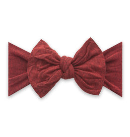 Baby Bling Bow Knot Heathered Red