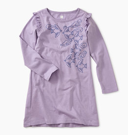 Tea Collection Graceful Ravens Dress 8, 10
