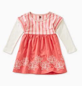 Tea Collection Lotus Layered Dress 12/18M
