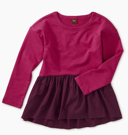 Tea Collection Knit Combo Pullover 8, 10