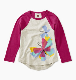 Tea Collection Butterfly Raglan 2T-4T
