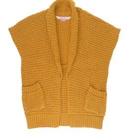 Ruffle Butts Golden Sweater Vest  4/5
