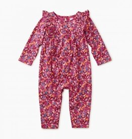 Tea Collection Printed Ruffle Romper 12/18, 18/24M
